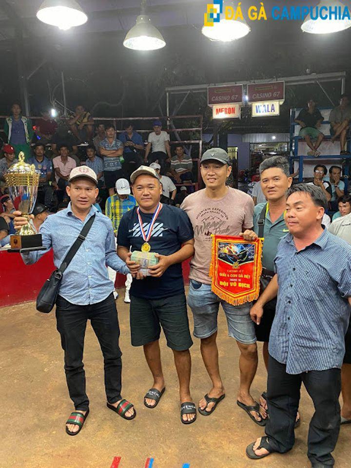 Anh Sáng củ chi vô địch giải gà casino 67
